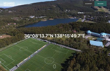 女神湖サッカーグラウンド